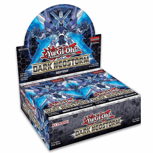 YuGiOh Dark Neostorm Booster Box [24 Packs] [Sealed] (Pre-Order ships May)