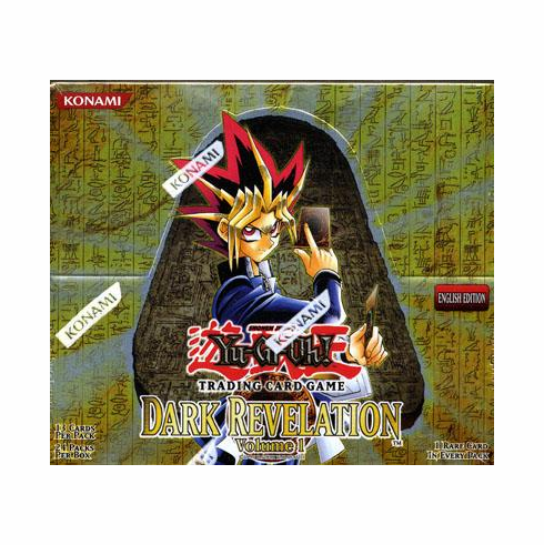 YuGiOh Dark Revelation 1 Booster Box