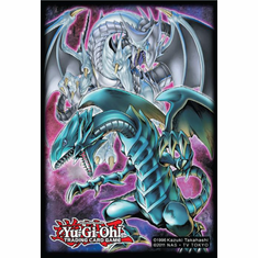 YuGiOh Double Dragon Deck Protector Card Sleeves
