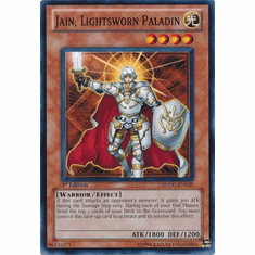 YuGiOh Dragons Collide Card - Jain, Lightsworn Paladin SDDC-EN020