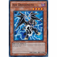YuGiOh Dragons Collide Common Card - Axe Dragonute SDDC-EN008