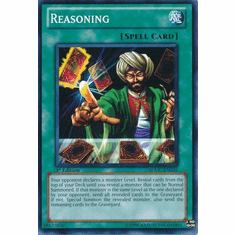 YuGiOh Dragons Collide Common Card - Reasoning SDDC-EN031