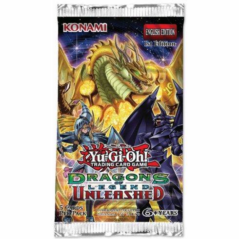 YuGiOh Dragons of Legend Unleashed Booster Pack
