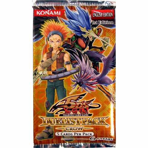 YuGiOh Duelist Pack Crow Booster Pack