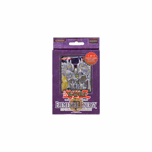 YuGiOh Elemental Energy Special Edition Pack