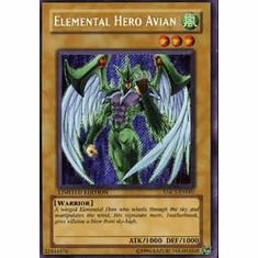 YuGiOh Elemental Hero Collection Promo Single Cards