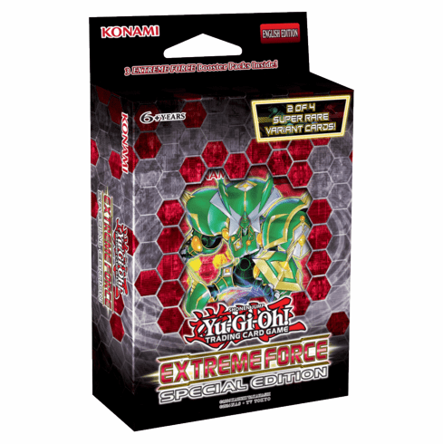 YuGiOh Extreme Force Special Edition Pack