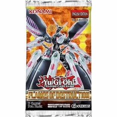 YuGiOh Flames Of Destruction Booster Pack