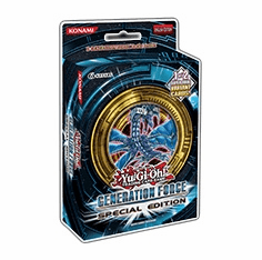 YuGiOh Generation Force Special Edition Pack