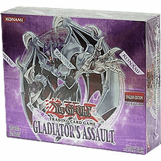 YuGiOh Gladiator's Assault Booster Box