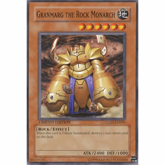 YuGiOh Gold Series 2 Card - Granmarg the Rock Monarch GLD2-EN009