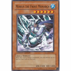 YuGiOh Gold Series 2 Card - Mobius the Frost Monarch GLD2-EN007