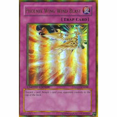 YuGiOh Gold Series 2 Phoenix Wing Wind Blast GLD2-EN048 Gold Rare Single Card