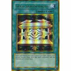 YuGiOh Gold Series 2 Rare Card - Gold Sarcophagus GLD2-EN040
