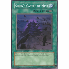 YuGiOh Gold Series 2 Shien's Castle of Mist GLD2-EN041 Common Single Card