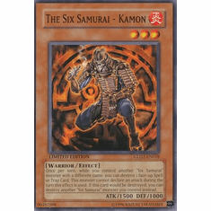 YuGiOh Gold Series 2 The Six Samurai Kamon GLD2-En018 Common Single Card