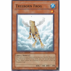 YuGiOh Gold Series 2 Treeborn Frog GLD2-EN010 Common Single Card