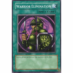 YuGiOh Gold Series 2 Warrior Elimination GLD2-EN035 Common Single Card