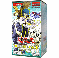 YuGiOh GX Jesse Anderson Duelist Booster Box