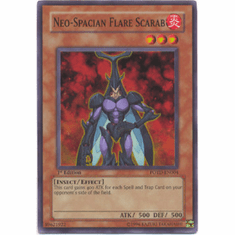 YuGiOh GX Power of the Duelist - Neo-Spacian Flare Scarab (Holofoil)