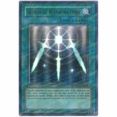 YuGiOh HL04-EN002 Ultra Parallel Rare Card - Swords of Revealing Light
