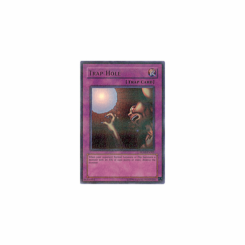 YuGiOh Hobby League HL03-EN003 Ultra Parallel Rare Card - Trap Hole