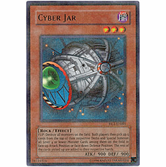 YuGiOh Hobby League HL2-EN001 Ultra Parallel Rare Card - Cyber Jar