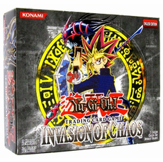 YuGiOh Invasion Of Chaos Booster Box