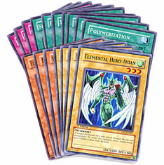 YuGiOh Jaden Yuki Common & Uncommon Cards Set(17 Cards)
