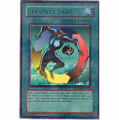 YuGiOh League HL03-EN002 Ultra Parallel Rare Card - Creature Swap