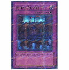 YuGiOh League HL03-EN006 Ultra Parallel Rare Card - Royal Decree