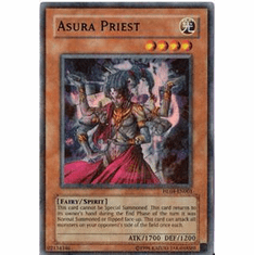 YuGiOh League HL04-EN003 Ultra Parallel Rare Card - Asura Priest