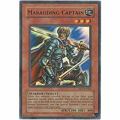 YuGiOh League HL2-EN005 Ultra Parallel Rare Card - Marauding Captain