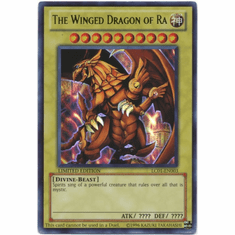 YuGiOh Legendary Collection Card - The Winged Dragon of Ra LC01-EN003