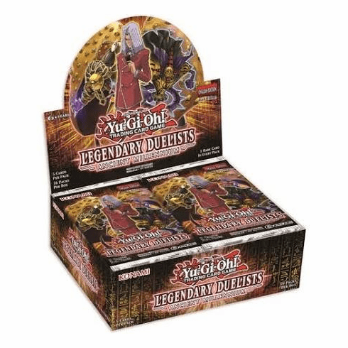 YuGiOh Legendary Duelist Ancient Millennium Booster Box
