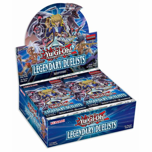 YuGiOh Legendary Duelists Booster Box
