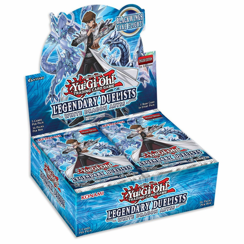YuGiOh Legendary Duelists White Dragon Abyss Booster Box