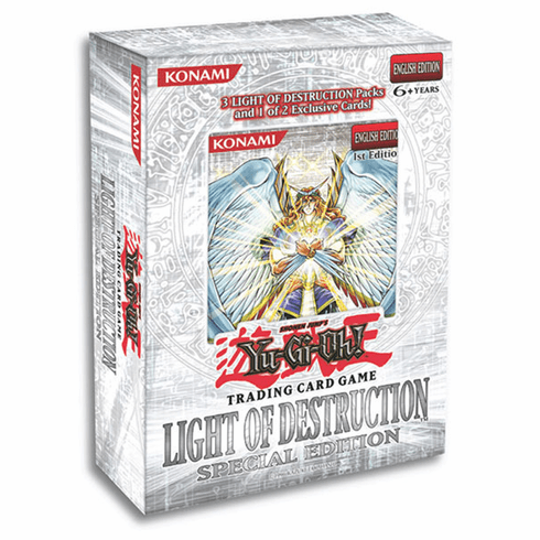 YuGiOh Light Of Destruction Special Edition Pack