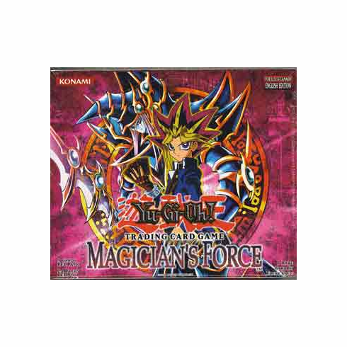 YuGiOh Magician's Force Booster Box