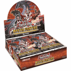 YuGiOh Mystic Fighters Booster Box [24 Packs] [Sealed]