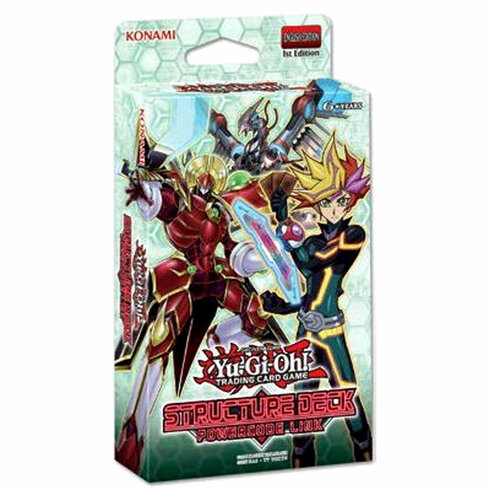 YuGiOh Powercode Link Structure Deck (Pre-Order ships August)
