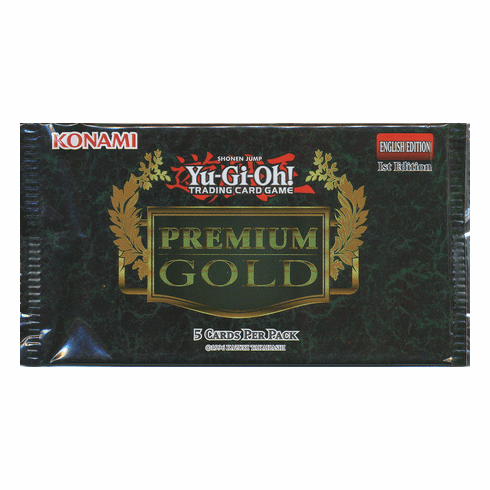 YuGiOh Premium Gold Mini-Pack