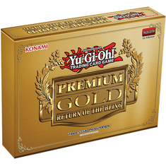 YuGiOh Premium Gold Return of the Bling Box