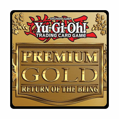 YuGiOh Premium Gold Return of the Bling Single Cards
