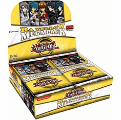 YuGiOh Ra Yellow Mega Pack Booster Box