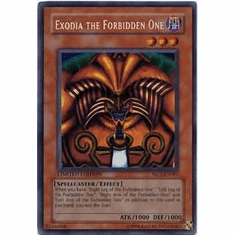 YuGiOh Rare Promo Card - Exodia the Forbidden One Secret MC1-EN001