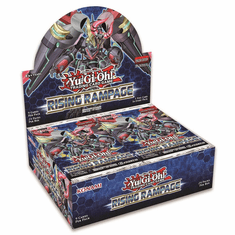 YuGiOh Rising Rampage Booster Box [24 Packs] [Sealed] (Pre-Order ships July)