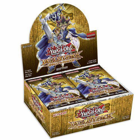 YuGiOh Rivals of the Pharaoh Booster Box