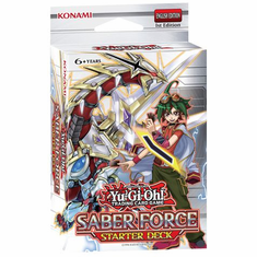 YuGiOh Saber Force Starter Deck