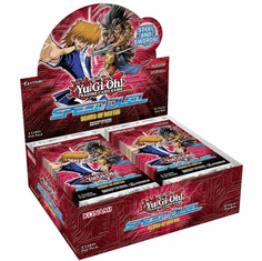 YuGiOh Scars of Battle Speed Duel Booster Box [36 Packs] [Sealed